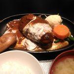 神戸牛居酒屋 四方善 - 料理写真:煮込みハンバーグ(2019/04)