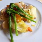 アンジェ - 鎌倉野菜の蒸し焼き