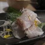 米澤牛DINING べこや - お造り(鯛の松皮)
