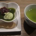 米澤牛DINING べこや - デザート(抹茶プリン)