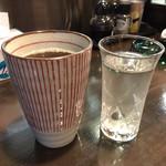 おかげさん - 烏龍茶と日本酒