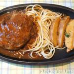 キッチンひらやま亭 - 料理写真:ハンバーグ