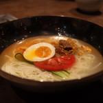 焼肉 市場小路 - 冷麺ハーフサイズ ¥590