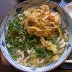 丸亀製麺 大分王子店 - ネギと天カスは好きなだけ入れてください