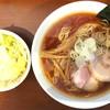麺処 いろ葉 - 料理写真:熟成中華そば大盛、温野菜トッピング(別皿オーダー)