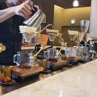 カフェタイム◇贅沢な午後のひとときをバリスタ厳選のコーヒーで