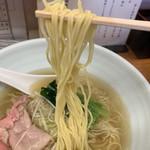 麺屋 一徳 - 細ストレート麺♡