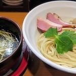 107317232 - 【(限定) 鯛と平目魚出汁つけ麺】¥1000