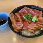 海鮮処 海門 - 料理写真:まぐろステーキ丼1680円