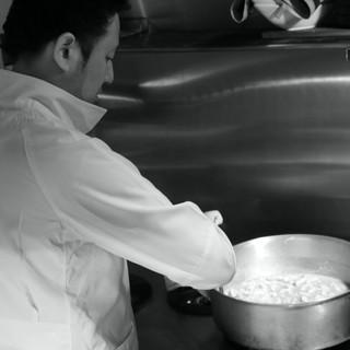 本場イタリアの味を再現。オーナーシェフ佐藤雅史のこだわり