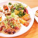 Restaurant&Cafe BRENZA - ブレンザプレート(パスタ)