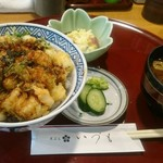 天ぷら いづも - かき揚げ丼
