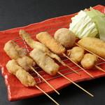 北海道料理ユック - 料理写真:北海串揚げセット(8本)