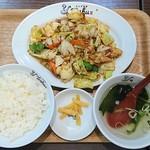 れんげ食堂 Toshu - ホイコール定食¥777(税込)