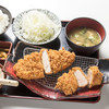 あかね農場 - 料理写真:ロースカツ&ヒレカツ定食