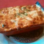 resutoranrengaya - 粗挽肉とおもちのラザニア
