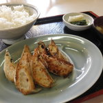こやま - 餃子定食850円