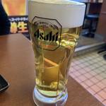 ジャンたこ - 生ビール(中)♡¥440