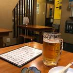 サカマル酒房 - 店内(2階)