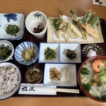 うどん山菜 塩屋 - 山菜定食