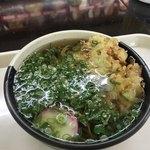 蒜山高原サービスエリア(下り線) フードコート - 料理写真:野菜かき揚げそば  640円