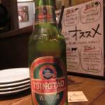 アガリコオリエンタルビストロ - チンタオビール