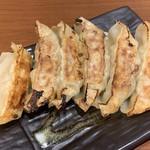 やきとり 餃子道場 - 焼き餃子 アップ