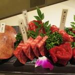 nikushouiyasaka - 近江牛5種と牛タン