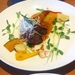 旬菜家VOSGES - 料理写真:ステーキランチ。この日はランプ肉♡