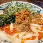 丸亀製麺 - 赤クリーミー!