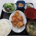 エッセン - 日替わりランチメニュ(鶏天)