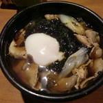 安曇野庵 - あおさ蕎麦(温)850円