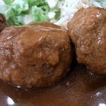リスタートバー食堂 - 美味しければ、足らないよ~、もう1個ってなるんでしょうけど、不味いと拷問ですからね。 パスタも美味くないし。