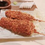博多屋 - 料理写真:レバカツ串