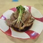 手打ち蕎麦 雷鳥 - 料理写真:「鴨おろしポン酢」