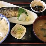 つるや - 焼き鯖定食