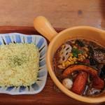 カリー小屋 - きのこ野菜