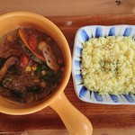 カリー小屋 - ポーク野菜