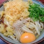 四代目横井製麺所 - ぶっかけ特盛冷たいやつ。生卵
