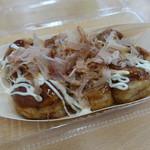 与島PAフードコート - 大玉たこ焼き(450円)