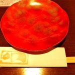 居酒屋 赤べこ - 取り皿とお箸