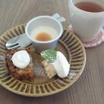 ミモリスカフェ - デザート盛り合わせ