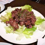 居酒屋 赤べこ - 若鶏胸肉の赤ワイン煮込み