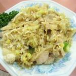 10736657 - 蒸し鶏の生姜タレかけ