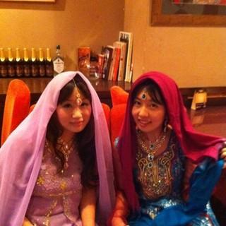 本格的なインドの民俗衣装で盛り上がりませんか?