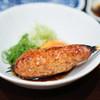 Toritanaka - 料理写真:鶏つくね焼き、 日本一玉子の卵黄添え