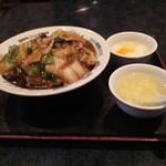 香港厨房 - 中華丼セット