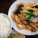 海上海 - ランチ 卵と野菜炒め 780円