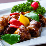 東方紅 - 黒酢酢豚