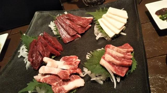 馬肉グリル&ワイン ゆう馬の料理の写真